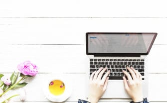 How I Became a Work at Home Mom Blogger
