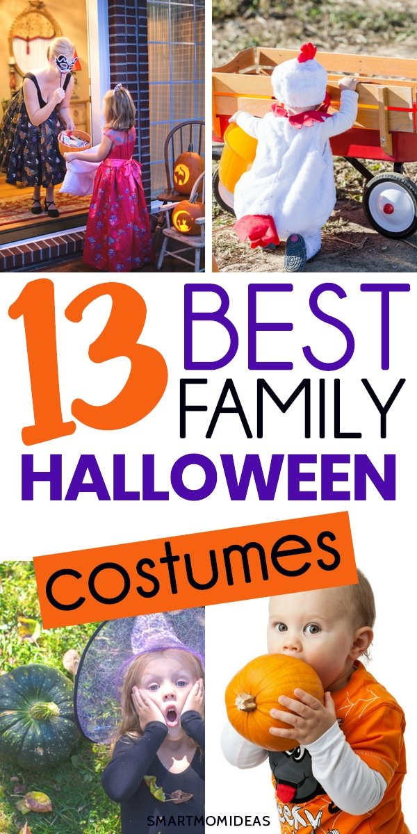 find the perfect family halloween costume that everyone will love to wear
