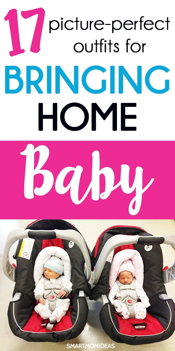 2ac1d0db6a1f2 Bring your baby girl or boy home from the hospital wearing a cute bringing  home outfit.