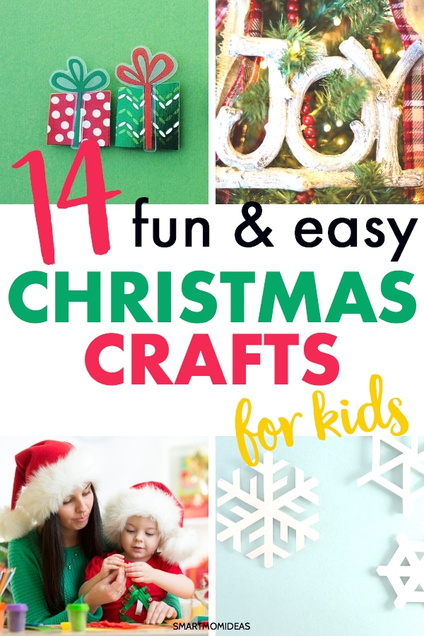 enjoy these diy christmas crafts for kids during the holidays
