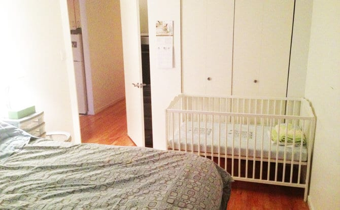 Our One Bedroom Small Nursery For Twins