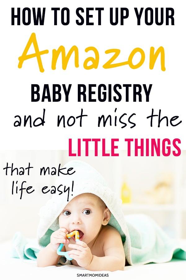 8c969982730c2 Setting Up Your Amazon Baby Registry | Smart Mom Ideas