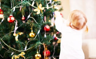 How to Decorate for Christmas When You Have a Toddler