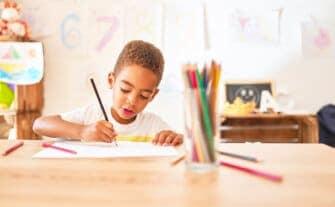 16 Best Homeschool Desk Ideas for Kids